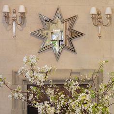 Michael S Smith for Mirror Image Home Celeste Mirror. #laylagrayce #mirrorimagehome #michaelssmith