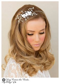 Hair Comes the Bride - Stunning Crystal