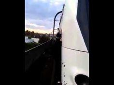 Surf sul treno in movimento da paura