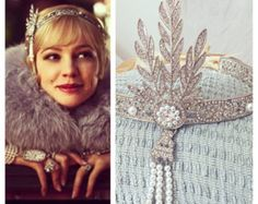Great Gatsby Wedding Necklace Pearl Bridal by AmbrosiaBridal