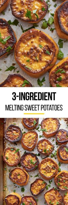 3 Ingredient Melting Sweet Potatoes. If you're looking for ideas for simple and easy sides and side dishes for dinner, this fast DELICIOUS recipe is just the ticket. You don't even need brown sugar to make these sweet and creamy vegetables kids and adults will love. Dinners and meals of all kinds benefit from this tasty dish.