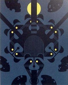 Raccreation | Charley Harper