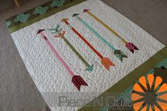 Love this Arrow quilt made by the one & only Lissa Alexander of Moda fame - Piece N Quilt: Arrow Quilt