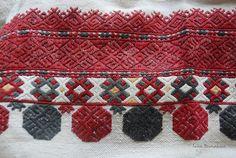 Фрагменти узорів весільної жіночої сорочки з Крижопільського району