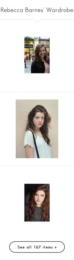 """Rebecca Barnes' Wardrobe"" by queenofwordsandplots ❤ liked on Polyvore featuring georgie henley, girls, people, pics, narnia, photos, tops, sweaters, shirts and jumpers"