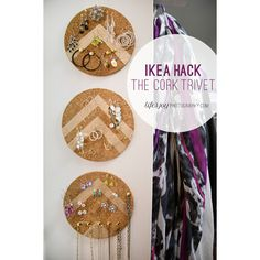 Do it Yourself Cork Trivets an Ikea Hack