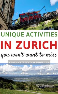 Planning your Zurich trip? Go beyond the famous Zurich attractions with these 30 amazing unique things to do in Zurich recommended by a local. Interesting off the beaten path things to do in Zurich and Zurich day trips to include on your itinerary. Europe Travel Guide, Travel Guides, Travel Destinations, Travel Plan, Travel Info, Budget Travel, Stuff To Do, Things To Do, All Inclusive Family Resorts