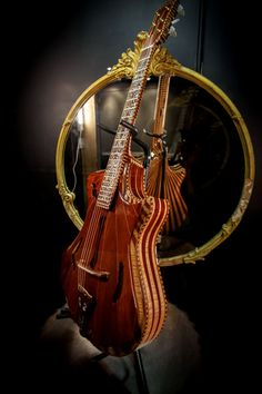 Inlay design by S. Reeves Red Queen 2012 for Parsons Guitars