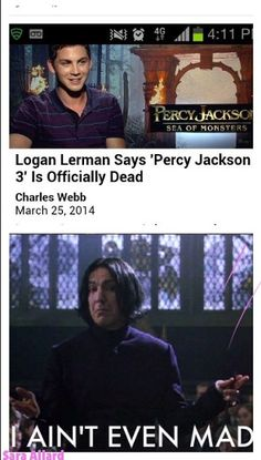 its not percy jackson 3 anyway.