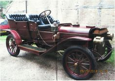Dashing Vintage Battery Operate Fancy Buggy With Flashing Headlights Battery Operated