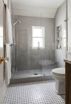 glass gray tiles