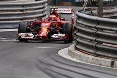 Kimi Räikkönen Monaco GP 2014