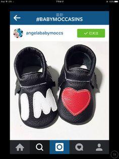 Love ♥️mum moccs #babyshoes #babygirls #babymama #love