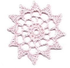 Quiltville's Quips & Snips!!: Crochet Spool Pin Doily from Carol!