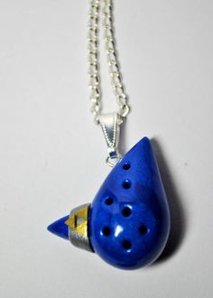 Ocarina pendant - how sweet.