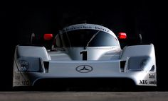 The Mercedes-Benz was a Group C prototype race car introduced in 1990 for the World Sportscar Championship. Built by Sauber as a successor to the Sauber the used the same Mercedes-Benz Biturbocharged Mercedes Benz Amg, Road Race Car, Race Cars, Sports Car Racing, Sport Cars, Real Racing, Motor Sport, Supercars, Automobile