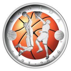 25 Dollar Silber Erfindung von Basketball PP