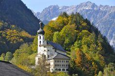 Tschagguns in Montafon (Austria)