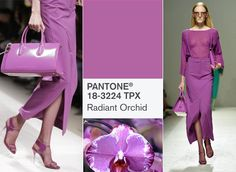 pantone color for 2014 | Radiant Orchid: Pantone Color of 2014 | Fab Alley Blog