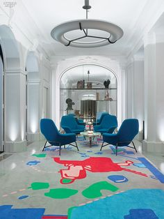 A Grande Dame's Creative Side: François Champsaur Rejuvenates the Hôtel Vernet | Projects | Interior Design
