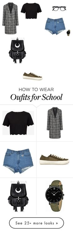 """""""Untitled #3003"""" by anamaria-zgimbau on Polyvore featuring Pedro García, Lanvin, Ted Baker and CLUSE"""