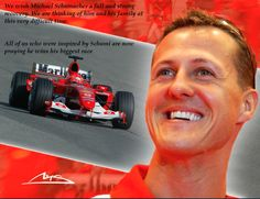 Michael Schumacher Latest: Fans Hold #Heartwarming Silent Vigil Outside Hospital For His 45th Birthday. Click to find out more.... #getwellsoon