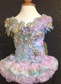 Glitz Pageant Dresses, Pagent Dresses, Pageant Wear, Wedding Dresses, Toddler Pageant, Toddlers And Tiaras, Sequin Outfit, Rhinestone Dress, Little Girl Hairstyles