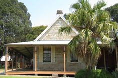 Wolston House is the oldest surviving residential farmhouse in the district and is ideally located on a property fronting onto the Brisbane River Brisbane River, Brickwork, Stone Houses, Sunshine State, Historic Homes, Farm Life, Homesteading, The Good Place, Places To Go