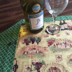 Wine Lovers Galore  Beautiful table runner by SheliInStitches