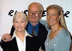 Joanne Woodward, Paul Newman and their daughter, Nell Newman
