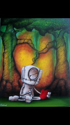compelling art from an artist with a voice  | Fabio Napoleoni