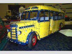 Meccano Bus by Bob Brooker