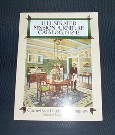 Illustrated Mission Furniture Catalog 1912-13 Vintage Furniture Company Book by SheCollectsICreate on Etsy