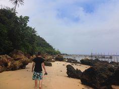 Caminhada até a Praia da Gamboa