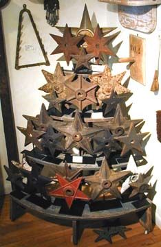 Old Cast Iron Stars...  had a chance to purchase about 50 of these several years ago..only $1.00 each..biggest mistake...didn't do it:(