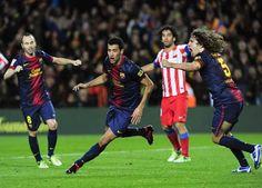 Barcelona Atletico Madrid maçı özeti / Atletico yine dağıldı (Video)