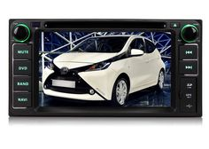 Pumpkin Best Pure Android 4.4 Kitkat In Dash GPS Navigation System Double Din for Toyota Head Unit with 6.2 inch Touch Screen Support 3G/WIFI/ODB2/7 Color Button Indicator $369.99