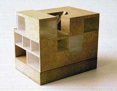 b+ arno brandlhuber & bernd kniess + jörg lammers: wohnhouse,  finsterwalde (1997)