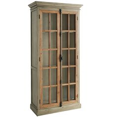 Cremone Linen Gray Tall Cabinet