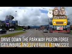 Drive Down the Parkway Sevierville Pigeon Forge and Gatlinburg Tennessee 8/3/2020 - YouTube