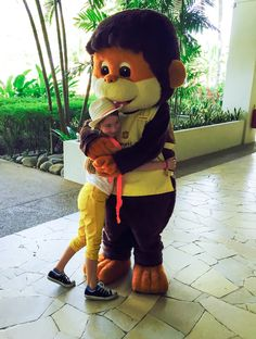Shangri-la's Rasa Ria Resort and Spa mascot Pongo the orangutan
