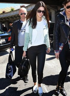 street style summer 2015 women, men trends | Kendall Jenner fashion style 2015 street los angeles haircut hairstyle ...