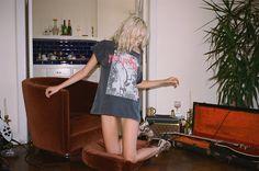 "New York Dolls ""DANCING BACKWARDS IN HIGH HEELS "" Tee >> NOW ON: http://loversanddrifters.com"