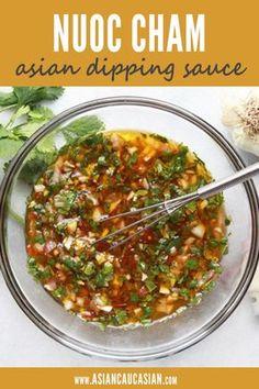 Vegetarian Recipes, Cooking Recipes, Healthy Recipes, Healthy Vietnamese Recipes, Vietnamese Salad Recipe, Vietnamese Sauce, Easy Asian Recipes, Kitchen Recipes, Healthy Food