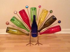 Peacock for the garden.