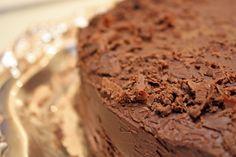 Dark Chocolate Cake by @Primal Palate #nutfree