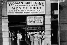 Women gained the right to vote in 1920 with the ratification of the 19th Amendment.