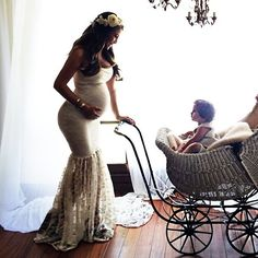 Obvi Georgia would be in something more age appropriate rather than a carriage.  I just like the Victorian feel.
