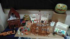 Exposición halloween pastelería Galema