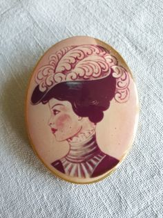 Brooch womans face Brooches, Faces, Plastic, Accessories, Vintage, Collection, Women, Brooch, The Face